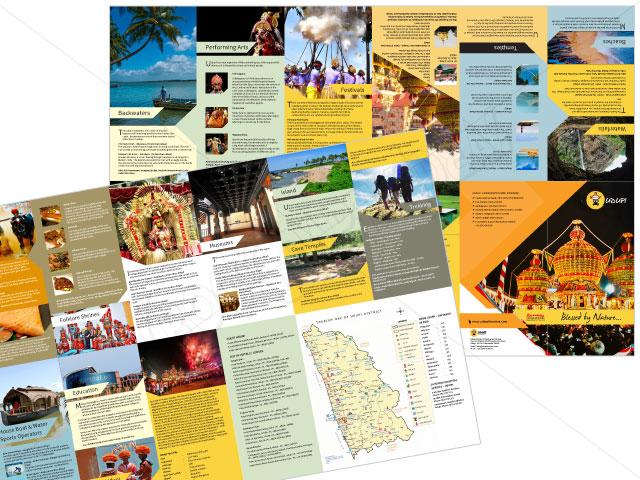 tourism brochure design ideas - brochure design jaipur corporate business brochure