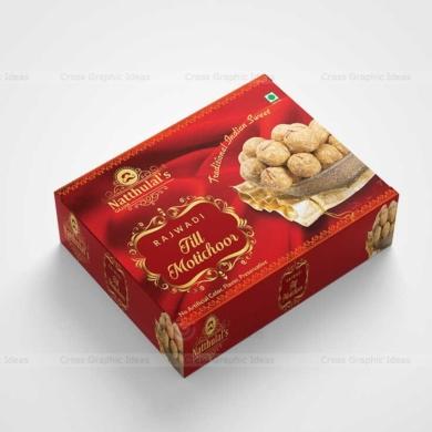 Sweet box packaging design