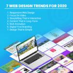 Seven web design trends for 2020